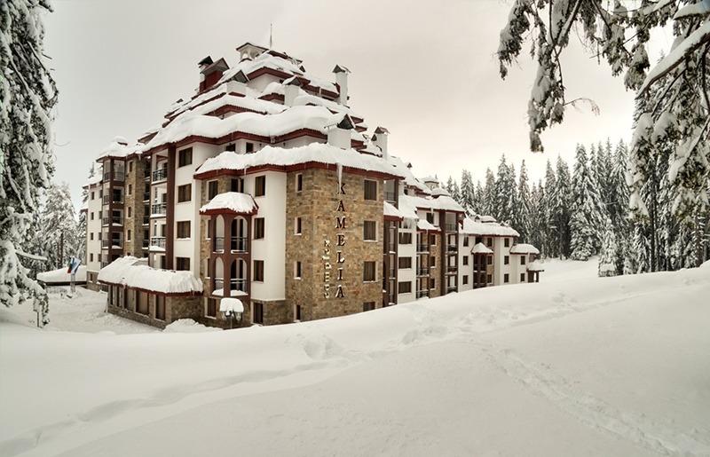 хотел камелия през зимата