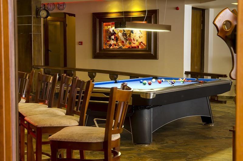 билярдна маса в хотел камелия пампорово