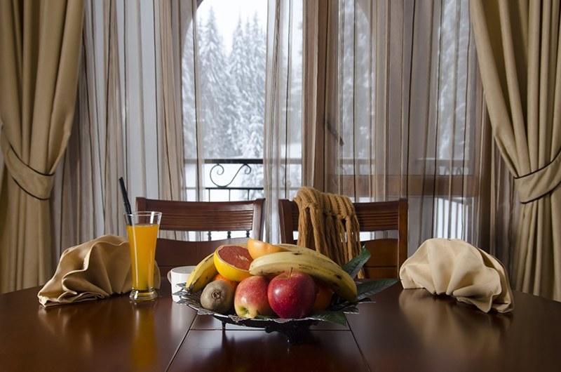 закуска с плодове в хотел камелия пампорово