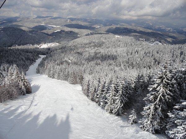 зима в курортен комплекс Пампорово