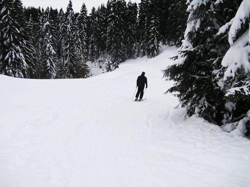 каране на ски в пампорово