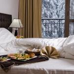 закуска в леглото през зимата