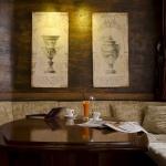 маса в лоби бара на хотел камелия пампорово