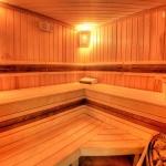 ползване на финландска сауна в Плампорово камелия хотел
